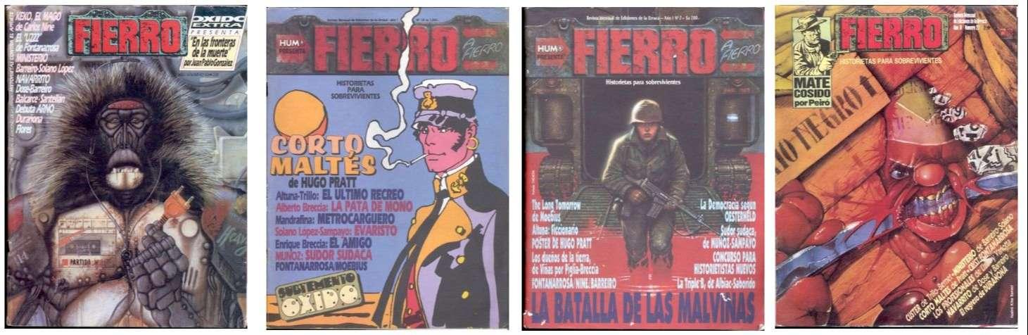 Disponibles para descarga los primeros 100 ejemplares de la revista Fierro