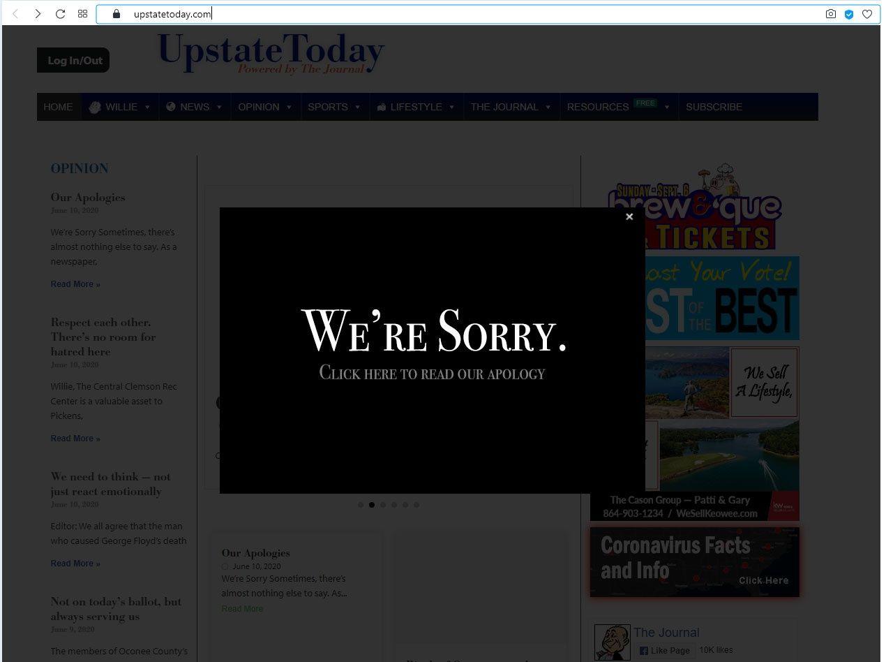 El periódico The Journal se disculpa por una viñeta considerada racista 1
