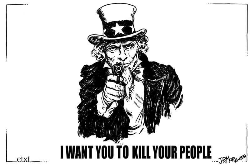 I want you to kill your people